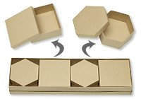 Earth-Friendly 5-Piece Set of Boxes