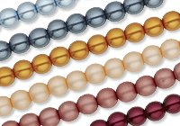 Pearlized Czech Glass Bead Color Additions