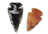 Gemstone Arrowhead Focals