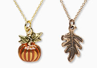 Fall-Themed Simple and Sleek Jewelry™
