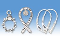 Sterling Silver Findings and Components