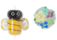 "Lampwork Beads ""Kitchy/Cutesy"" Designs"