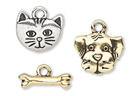 "TierraCast ""Spot & Whiskers"" Charms and Whiskers"