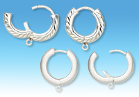 Addition to Line: Hoop Earrings with Loops