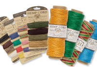 60+ New Hemp and Bamboo Cord Additions