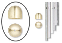 Wind Chime Components – Tubes, Rods and Bells