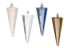 Natural Pendulum Drop Gemstones