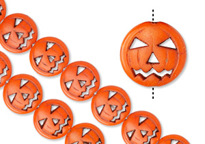 New Smaller Pumpkin Beads