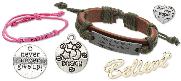 Affirmation Charms