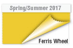 Spring/Summer 2017 Color Trends - Ferris Wheel