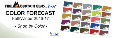 Fire Mountain Gems Color Forecast - Fall/Winter