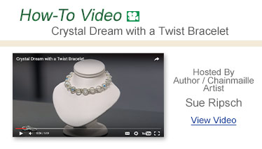 How-To Video - Create a Crystal Dream with Twist Bracelet