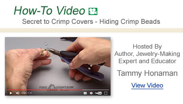 How-To Video - Secret to Crimp Covers - Hiding Crimp Beads