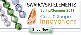 SWAROVSKI ELEMENTS Spring/Summer 2011 Color & Shape Innovations Shop Now