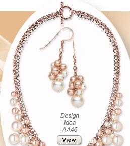 Design Idea AA46 Necklace and Earring Set
