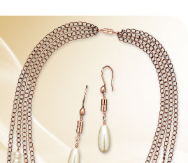 Design Idea B706 Necklace and Earring Set