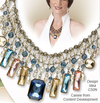 Design Idea C50N Necklace and Earring Set