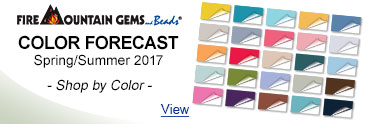 Fire Mountain Gems Color Forecast - Spring/Summer 2017