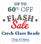 Czech Glass Flash Sale - Today Only!