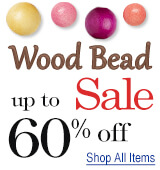 Wood Bead Sale