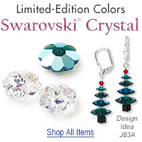 New Swarovski Crystal Margarita Beads