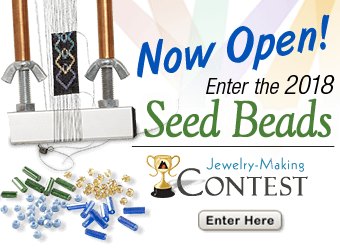 Fire Mountain Gems and Beads 2018 Seed Bead Contest Now Open!