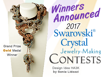 Fire Mountain Gems and Beads 2017 Swarovski crystal Contest Winners Announced!