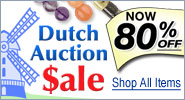 Dutch Auction Sale - Now 80