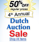 Dutch Auction - 50% Off