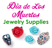 Day of the Dead Jewelry Supplies