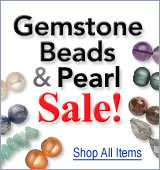 Gemstone Beads & Pearl Sale
