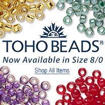 Toho Seed Beads Now Available in Size 8/0