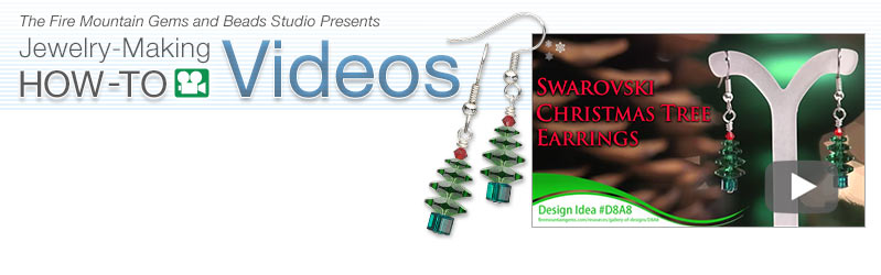 Browse Christmas Tree Earrings How-To Videos