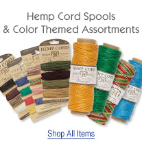 Hemp and Bamboo Cord Additions