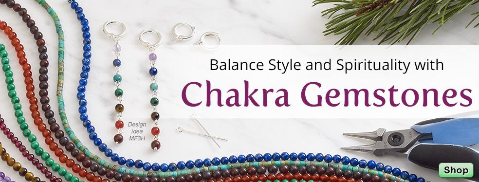 Balance Style and Spirituality with Chakra Gemstones