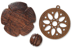 Wood Beads and Components