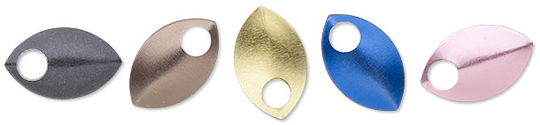 Anodized Aluminum Curved Scale Components