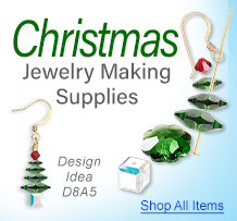 Christmas Jewelry Making Supplies
