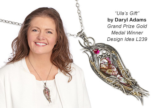 Ulas Gift by Daryl Adams - Grand Prize Gold Medal Winner