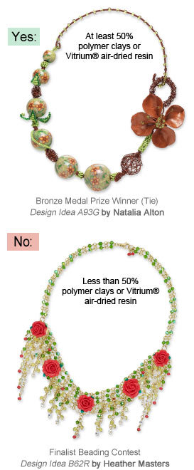 Creative Clays Jewelry-Making Contest Design Examples
