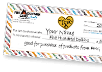 Fire Mountain Gems and Beads Gift Certificates