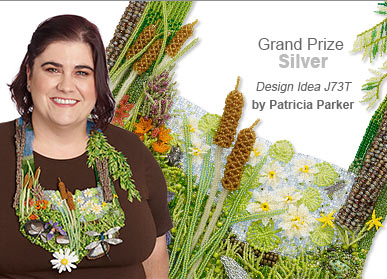 Seed Beads Contest Grand Prize Silver Medal Winner by Patricia Parker - Design Idea J73T