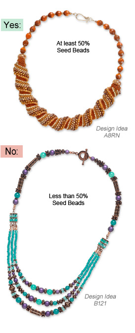 Seed Beads Jewelry-Making Contest Design Examples