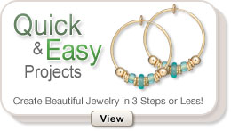 Quick & Easy Jewelry-Making Projects