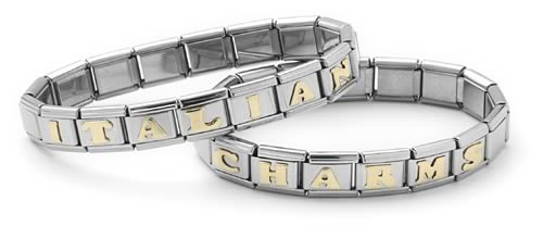 Bracelet With Italian Style Charms