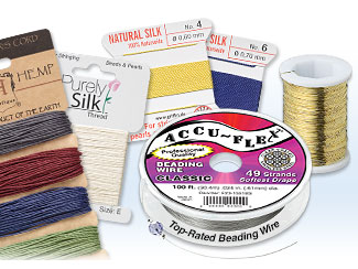 Thread, Cord and Wire for Jewelry-Making