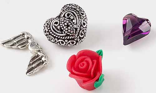 Valentines day jewelry making supplies fire mountain gems and beads jewelry making supplies beads aloadofball Gallery