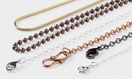 Plated Silver 4x6mm Heart Chains,Love Charms Decorative Rosary Chain Wholesale,Brass Link Necklace Chain Fine Jewelry Findings Choker Bulk