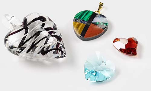 Valentines day jewelry making supplies fire mountain gems and beads charms pendants and drops aloadofball Choice Image