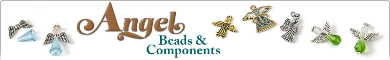 Angel Beads and Components